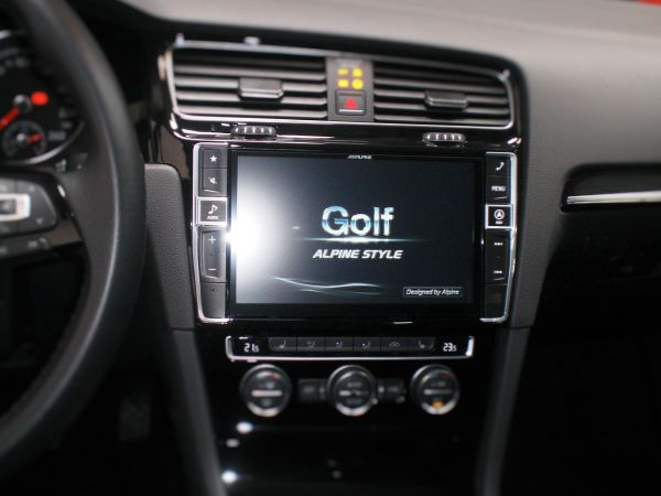 autoradio GPS GOLF7